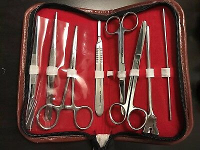 8 Stainless Steel Surgical Tools