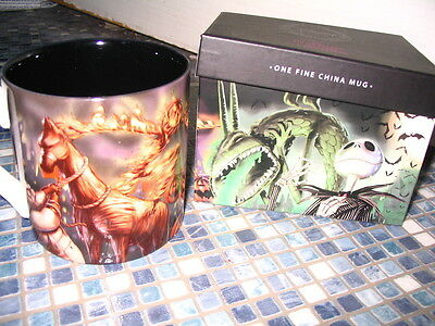 Disney Store Nightmare Before Christmas Classics Boxed Mug 2011 Brand New Rare