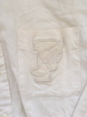 Vintage Polo Ralph Lauren P Wing Shirt Size Mens Large Very Rare