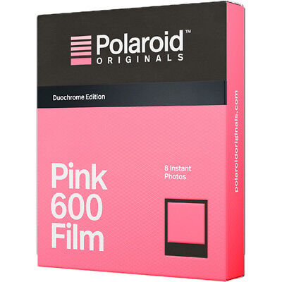Impossible Project 600 Pink & Black Duochrome Film