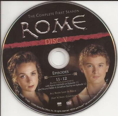 Rome (DVD) HBO First Season 1 Disc 5 Replacement Disc U.S. Issue Disc Only!