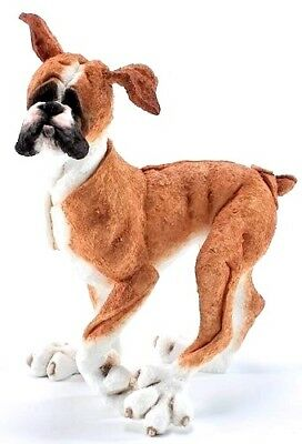 A Breed Apart by Country Artists Very Rare New Boxer Walking Figurine CA00111