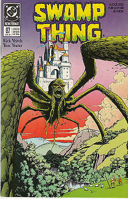 SWAMP THING  87...NM-...(Vol 2)...1989...Etrigan (Demon) Cameo!...Bargain!