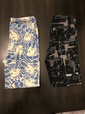 Lot Of 2 LuLaRoe S/M Leggings EUC