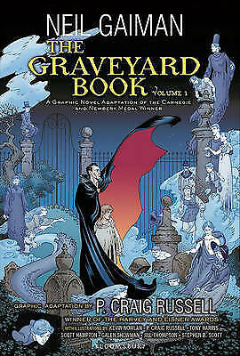 The Graveyard Book Graphic Novel, Part 1-ExLibrary