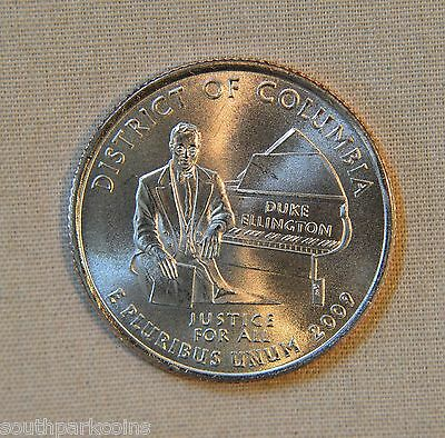 2009-P Uncirculated District of Columbia Territory Quarter - Single