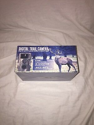 AUCEE Hunting Camera, 12MP 1080P Full HD Trail Camera Infrared Wildlife Camera