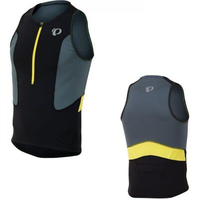 Pearl Izumi Men's Select Tri Cycle Cycling Bike Running Singlet - Black/Stormy