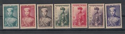 South Vietnam: 1954 Crown prince Boa Long set of 7. SG91/7. MUH/MNH.Scarce items