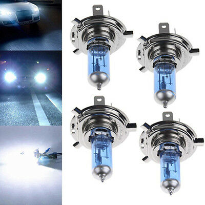 2Pcs H1/h4/h7 55W/100W Xenon Gas Halogen Headlight White Lamps 5000K Bulbs Hot