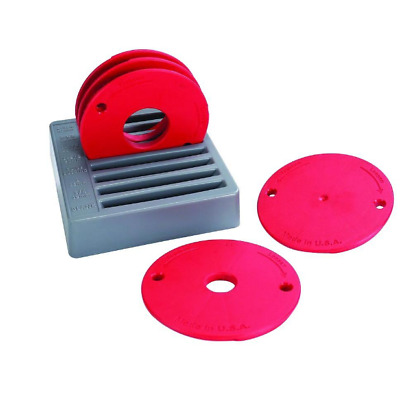 Kreg prs4034 router table insert plate w level loc rings kreg level loc 5 piece reducing rings fits precision router table insert plate keyboard keysfo Image collections