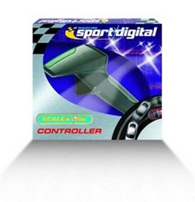 Scalextric C7002 Digital Hand Throttle and 5 Colour Tops