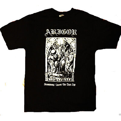 ABIGOR SHIRT Emperor Watain Behemoth Darkthrone Satyrico Tee Shirt Size S to 3XL