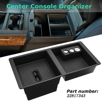 Center Console Organizer Secondary Storage Front Floor Insert OE 22817343 For GM