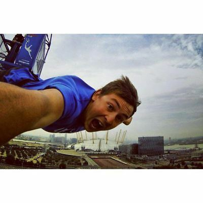 160ft Bungee Jump in London Next to The O2
