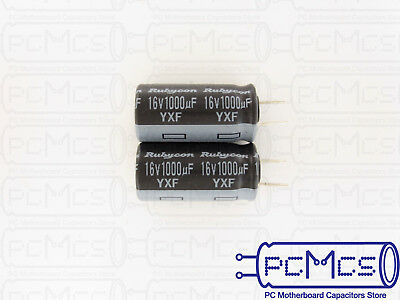 15 of Rubycon YXF series 16V 1000UF Long Life Low impedance Japan Make Capacitor