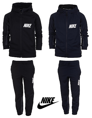Nike Boys Kids Tracksuit Jogging Bottoms Hoodie Jacket Top Training Pants 5-14