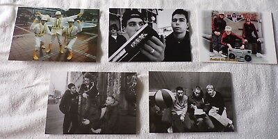 Beastie Boys Solid Gold Hits Set of 5 Postcards new sealed