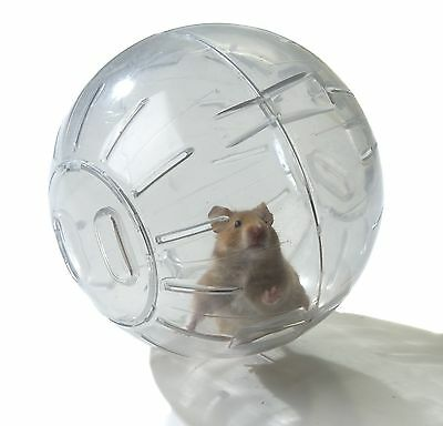 Hamster Ball Exercise Ball 18 Cm Wide Various End Cap Colours