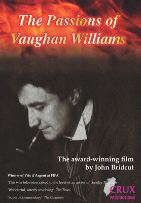 The Passions of Vaughan Williams DVD (2018) John Bridcut ***NEW***