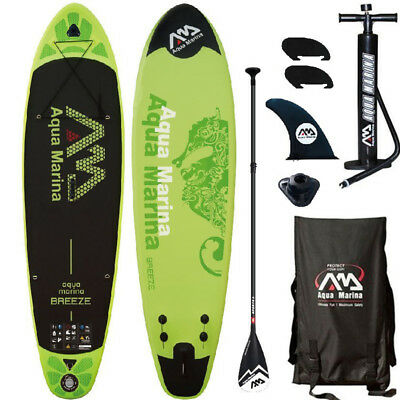 AQUA MARINA Breeze SUP inflatable Stand Up Paddle Surfboard aufblasbar ISUP 300
