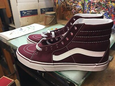 339fabcfc5bf6f VANS SK8-HI (CANVAS) Port Royale NIB Size US Men s 10 VN0A38GEJX5 ...