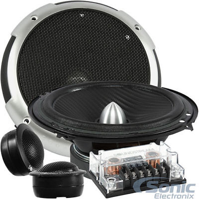 "Soundstream PF.6 Picasso 350 Watts 6.5"" 2-Way Component Speakers Tweeters 6-1/2"""