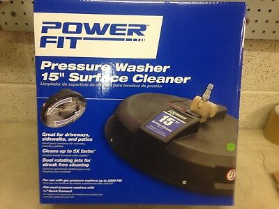 """PowerFit Pressure Washer 15"""" Surface Cleaner, PF31023B"""