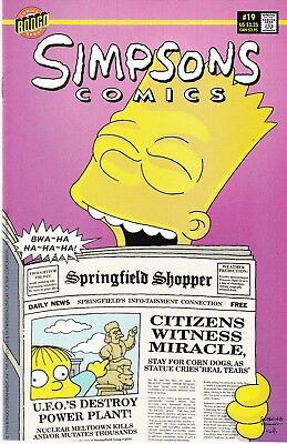 SIMPSONS COMICS 19...VF/NM...1996...Great Comic!...Bargain!