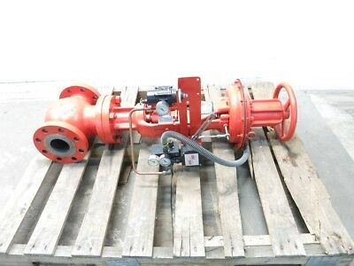 New Copes Vulcan 1 643133LCV-50 Steel Flanged 3in 300 Globe Valve