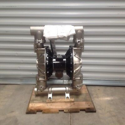 """Graco Husky 2150 Pump 2"""" Positive Displacement Pump Stainless Steel"""