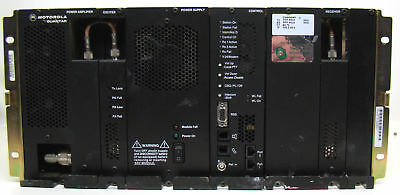 Motorola T5365A Quantar 800MHz 100W Base Station Repeater w/Power Supply a