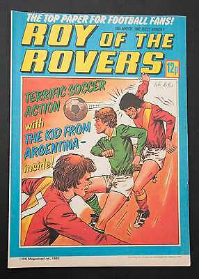 ROY OF THE ROVERS - 15th Mar 1980 - Vintage / Retro Football Comic