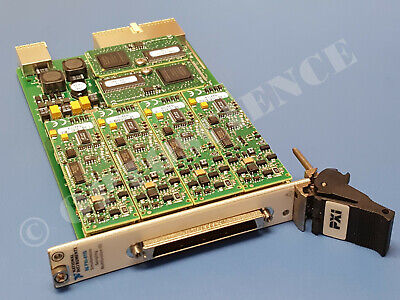 National Instruments PXI-6115 NI DAQ Card 4ch 10MS/sec Simultaneous Analog Input