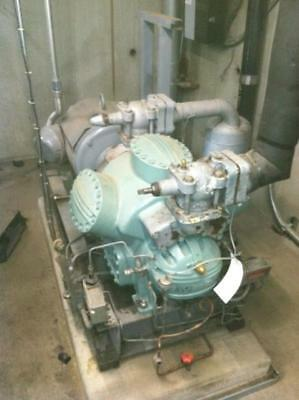 Refrigeration unit compressor and motor 60 hp Carlyle / Carrier model 5H60