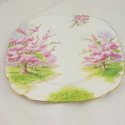 """Dinner Plate by Royal Albert in Blossom Time Pattern 9 5/8"""""""