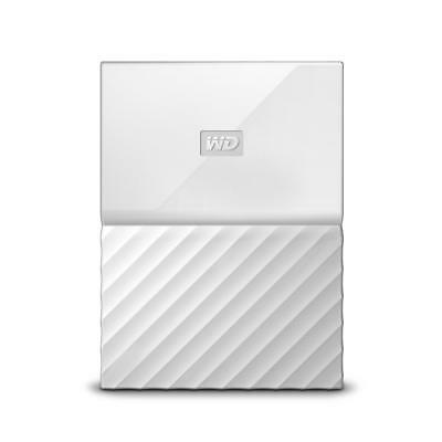 WD My Passport 2TB White Portable Hard Drive by Western Digital 3 year limite...