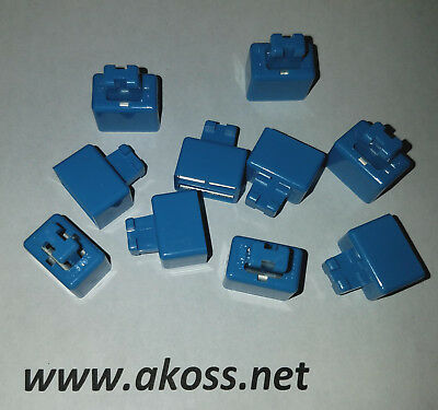 Siemon SMBC-2 Blue Bridge Bridging Clips S66 - *NEW Lot size 20 pairs