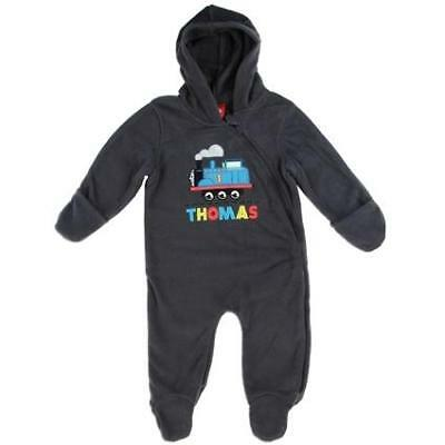 SALE LICENSED Thomas Train Baby Boys Body Jump Suit 000 00 0 3 6 9 Months Grey