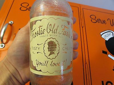 Vintage Frostie Old Fashioned Root Beer Glass Bottle * Mt Jewitt, PA