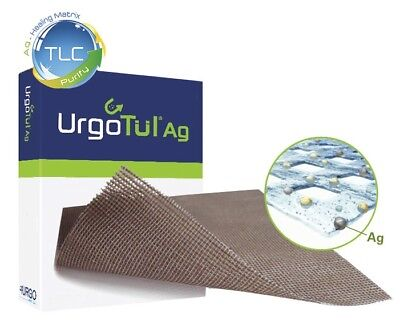 Urgotul Silver Antibacterial Contact Layer with TLC-AG Dressings 10cm x 12cm