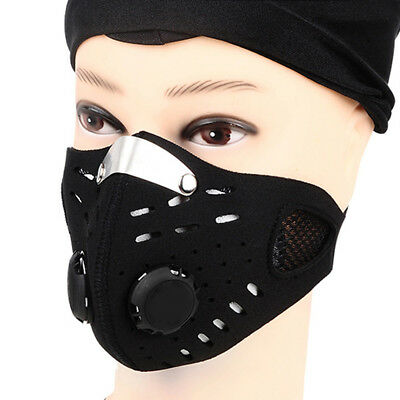 1pc Super Outdoor Sport Cycling Bicycle Motorcycle RC Ski Half Face Mask Filter