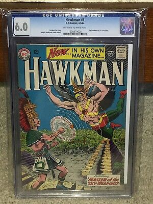 Hawkman #1 CGC 6.0 DC 1964 Justice League! JLA! 1st in own title! H2 128 cm