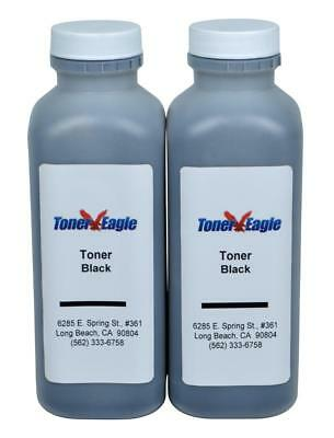 (2) Toner Eagle Refill w/Chips for Lexmark 501H MS310 MS410 MS510 MS610 50F1H00