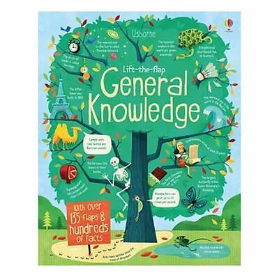 Lift-the-Flap General Knowledge Children Board Book 16 Pages