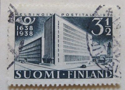 A8P2 Finland 1938 3 1/2m used #105