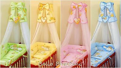 10 pcs bedding set /Bumper/sheet/duvet/Rod to fit baby Swinging Crib 100% COTTON