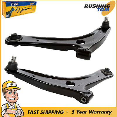 LEFT DODGE CALIBER 2007-2011 2 FRONT CONTROL ARMS RIGHT