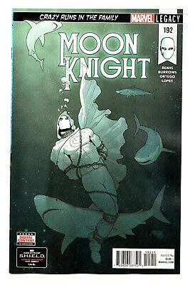 Moon Knight #192 Legacy / Crazy Runs In The Family (Marvel 2018) - NM