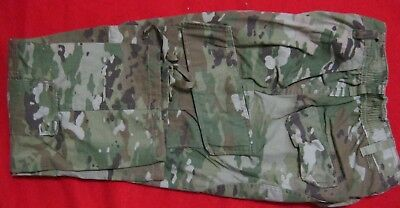 GENUINE Issue Scorpion W-2 Multicam OCP ARMY Combat TROUSERS PANTS Female USED E